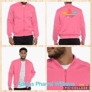 Adidas Pharrel Williams Collection Pink Jacket-XS